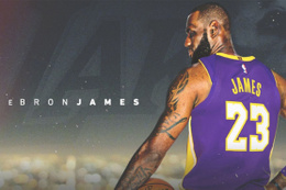 LeBron James resmen Los Angeles Lakers'ta
