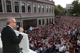 Cumhurbaşkanı Erdoğan: 'Amerika'yı hukuka davet ediyoruz'