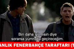 Fenerbahçe  elendi capsler patladı