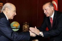 Bahçeli'den Erdoğan'a tebrik telefonu