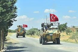Türk askeri Münbiç'de devriyeyi tamamladı