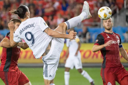 Ibrahimovic'ten enfes gol