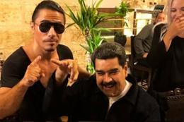 Venezuela Başkanı Maduro Nusret'te yemek yedi ülkesi karıştı