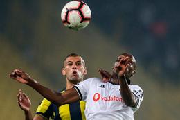Fenerbahçe Beşiktaş maçının fotoğrafları