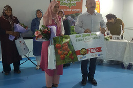 Kadın Çiftçiler bilgilerini yarıştırıyor