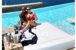 Vagner Love tatilin tadını çıkarıyor