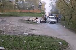 Çöpü yakan görevliler hiç beklemediği bir sonuçla karşılaştı