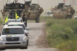 Suriye'de YPG ve ABD'nin ortak devriyesine saldırı!