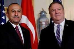 Dışişleri Bakanı Çavuşoğlu Pompeo ile görüştü!