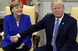 Merkel'den Trump'a: Size kimse inanmaz