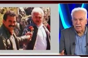 Perinçek'e canlı yayında Öcalan'la çektirdiği fotoğraflar gösterilince...