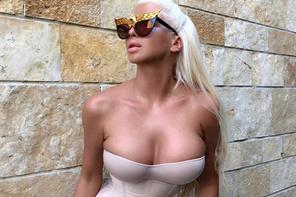 Tosic'in eşi Jelena Karleusa yine ortalığı salladı