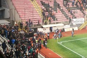 Manisaspor – Beşiktaş maçında ilginç anlar
