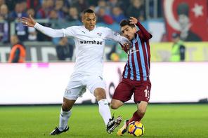 Trabzonspor-Bursaspor maçı fotoğrafları