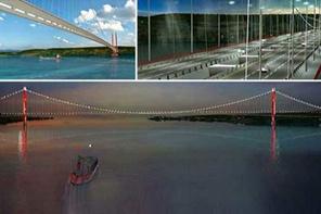 1915 Çanakkale Köprüsü'nün görüntüleri böyle olacak!