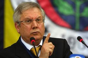 Fenerbahçe taraftarından Aziz Yıldırım'a küfür
