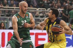 Panathinaikos - Fenerbahçe maçından kareler
