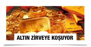 Altın fiyatları zirveyi koşuyor çeyrek altın gram altın son durum