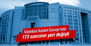İstanbul Adalet Sarayı nda atama depremi