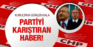 CHP bu haberle çalkalandı aday olmayacak