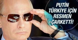 Putin çok dara düştü Türkiye için resmen çarketti