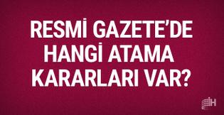 15 Kasım 2017 Resmi Gazete haberleri atama kararları