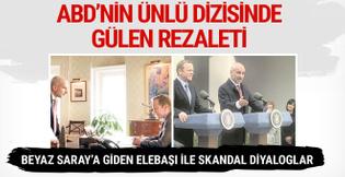ABD dizisinde Fetullah Gülen rezaleti