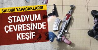 Fenerbahçe stadının çevresinde keşif yaparken yakalandı!