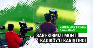 Kameramanın bu görüntüsü Kadıköy'ü karıştırdı