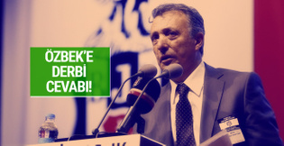 Beşiktaş'tan Dursun Özbek'e derbi cevabı!