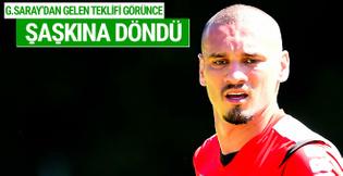 Maicon Galatasaray'dan gelen teklifle şaşkına döndü
