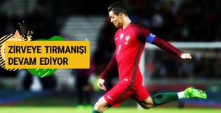 Ronaldo'nun zirveye tırmanışı devam ediyor