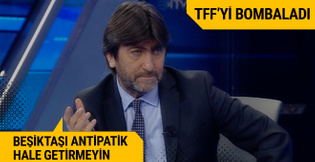 Rıdvan Dilmen TFF'yi bombaladı