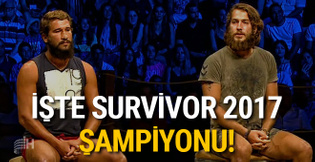 Survivor birincisi 2017 şampiyonu (Survivor'ı kim kazandı?)