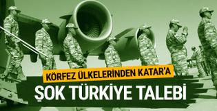 Körfez ülkelerinden Katar'a şok Türk askeri üssü talebi