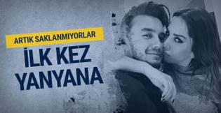 İşte Mustafa Ceceli ve Selin İmer'in birlikte ilk fotoğrafı saklanmıyorlar!