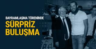 Fenerbahçe'nin bayramlaşma töreninde Ogeday sürprizi