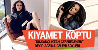 Güzide Duran'dan Ayşe Hatun Önal'a: Kıskanmaktan gebereceksin