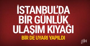 İstanbul'da toplu taşıma cuma günü yüzde 50 indirimli