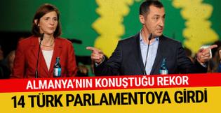 Almanya'da 14 Türk parlamentoya girdi... İşte o isimler...