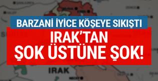 Referandum sürerken Irak'tan IKBY'ye şok üstüne şok!