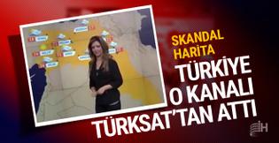 Skandal Kürdistan haritası veren Rudaw Türksat'tan atıldı