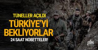 Yeni tüneller açıldı! Türkiye'yi bekliyorlar...