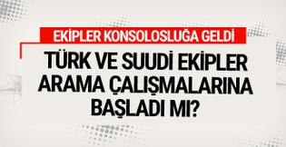 Türk ve Suudi ekip konsolosluğa girdi