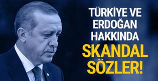 ABD'li isimden Türkiye için skandal sözler!