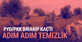 TSK ve ÖSO Kude köyünü teröristlerden temizledi
