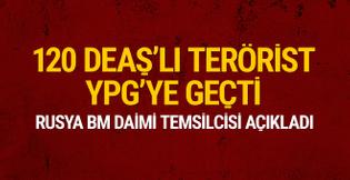 Rusya açıkladı: 120 DEAŞ'lı terörist YPG saflarında