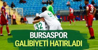 Karabükspor Bursaspor maçı golleri ve özeti