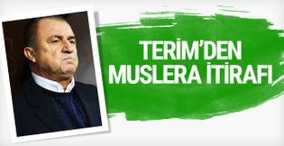 Fatih Terim'den Muslera itirafı