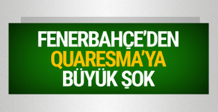 Fenerbahçe Quaresma'yı şikayet etti